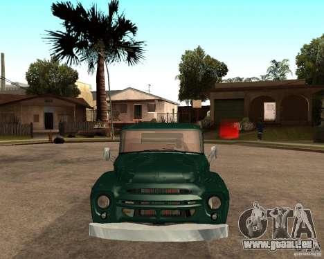 ZIL 130 Fiery Tempe v1. 0 für GTA San Andreas zurück linke Ansicht