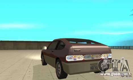 New lights and crash für GTA San Andreas dritten Screenshot