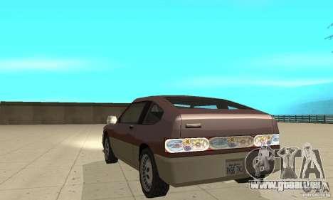 New lights and crash pour GTA San Andreas troisième écran