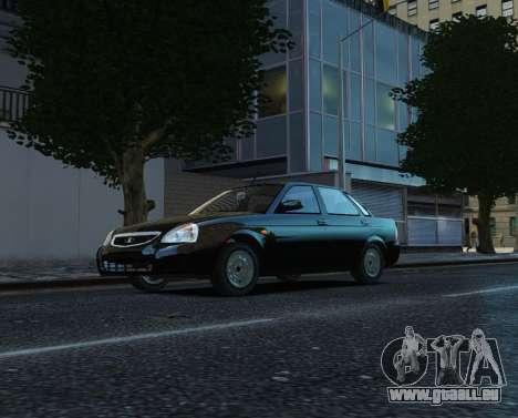 VAZ Lada 2170 Priora pour GTA 4