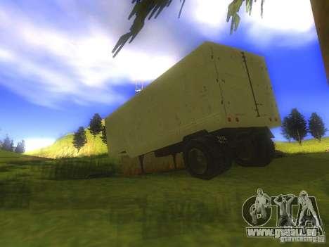 Remorque Odaz 794 pour GTA San Andreas vue de droite