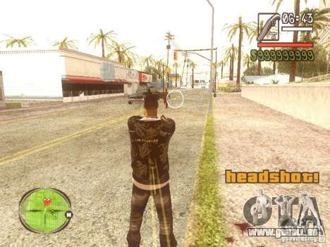 Wild Wild West für GTA San Andreas her Screenshot