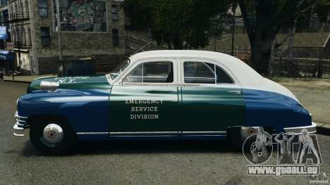 Packard Eight Police 1948 für GTA 4 linke Ansicht