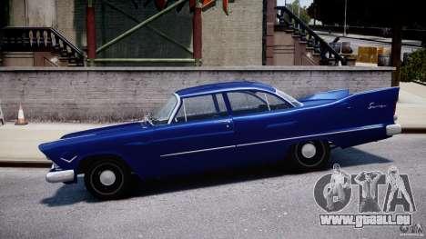 Plymouth Savoy Club Sedan 1957 für GTA 4 linke Ansicht