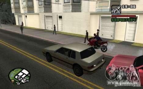 Universal Rückleuchten für GTA San Andreas dritten Screenshot