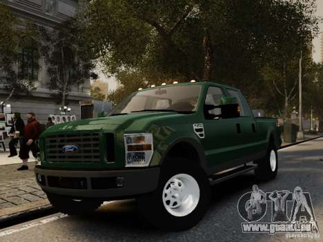 Ford F-250 FX4 2009 pour GTA 4
