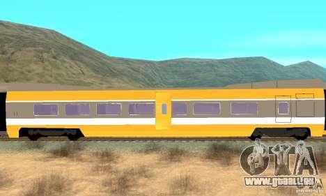 TGV SOUTH WEST pour GTA San Andreas vue de droite