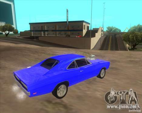 Dodge Charger RT 1970 The Fast and The Furious pour GTA San Andreas vue de droite