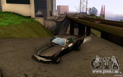 Ford Mustang Boss 302 pour GTA San Andreas roue