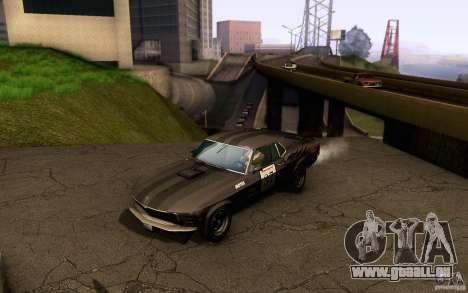 Ford Mustang Boss 302 für GTA San Andreas Räder