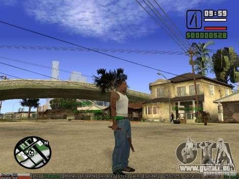 Armes de Pak pour GTA San Andreas cinquième écran