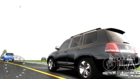 Toyota Land Cruiser 200 RESTALE für GTA 4 rechte Ansicht