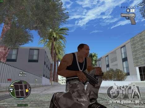 Pack de GTA IV pour GTA San Andreas deuxième écran