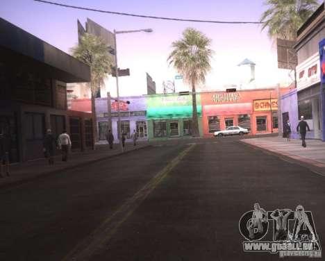 ENBSeries für Ultra Pack Vegetetions für GTA San Andreas zweiten Screenshot