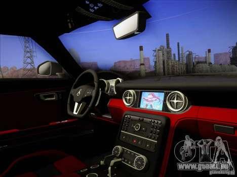Mercedes-Benz SLS AMG pour GTA San Andreas vue de côté