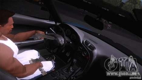 Mazda RX-7 Veilside v3 pour GTA San Andreas vue arrière