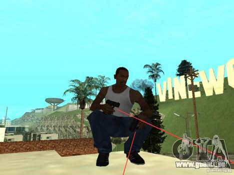 Laser Weapon Pack für GTA San Andreas