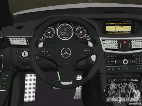 Mercedes-Benz E63 AMG pour GTA Vice City roue