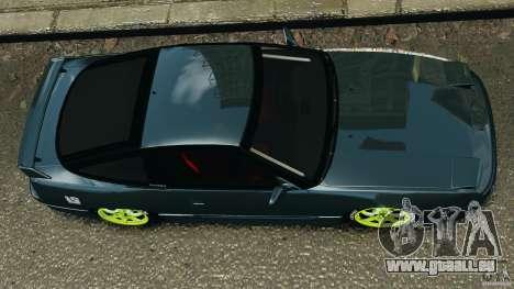 Nissan 240SX JDM für GTA 4 Seitenansicht