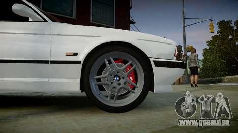 BMW M5 (E34) 1995 v1.0 pour GTA 4 est un droit