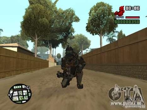 Le costume des jeux Dead Space 2 pour GTA San Andreas sixième écran