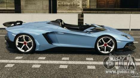 Lamborghini Aventador J 2012 pour GTA 4 est une gauche