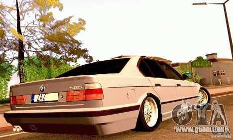 BMW E34 525i für GTA San Andreas Seitenansicht