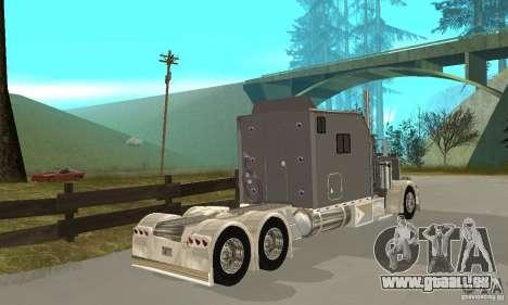 Peterbilt 379 Custom Legacy pour GTA San Andreas vue de droite