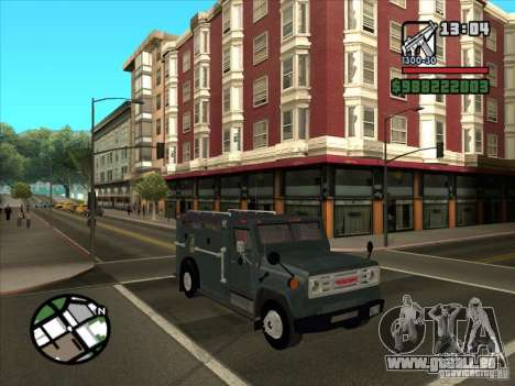 GMC 6000 Armored Truck 1985 für GTA San Andreas