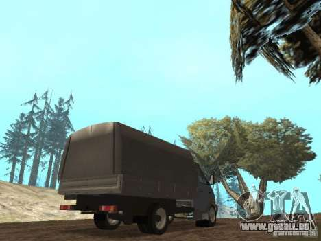 GAZ-3310 Valdaï pour GTA San Andreas vue de droite