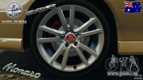 Holden Monaro CV8-R für GTA 4 obere Ansicht