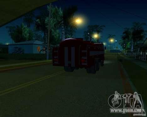 KAMAZ 53213 LD-5 für GTA San Andreas zurück linke Ansicht