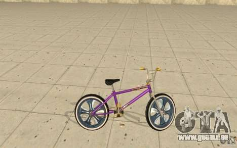 Spin Wheel BMX v1 für GTA San Andreas linke Ansicht