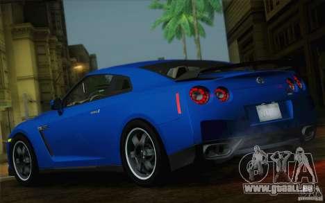 Nissan GTR Egoist pour GTA San Andreas sur la vue arrière gauche