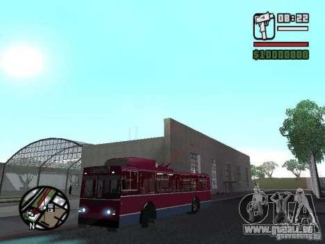 ZIU 682GM 1 pour GTA San Andreas vue arrière