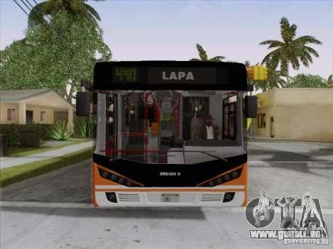 Design X4 für GTA San Andreas obere Ansicht