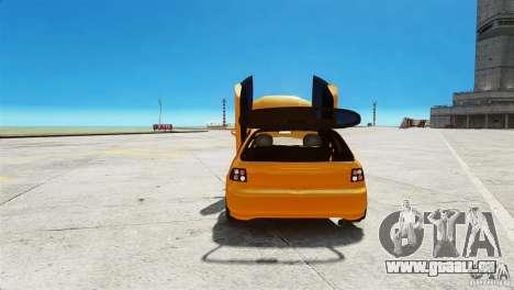 Honda Civic Tuned pour GTA 4 Vue arrière
