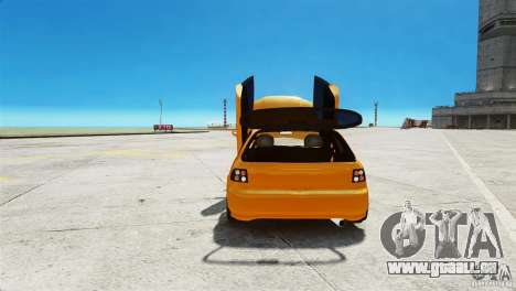 Honda Civic Tuned für GTA 4 Rückansicht