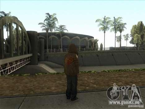 Ryo NFS PS pour GTA San Andreas troisième écran