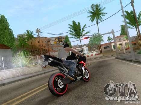 Yamaha YZF R1 2012 pour GTA San Andreas laissé vue