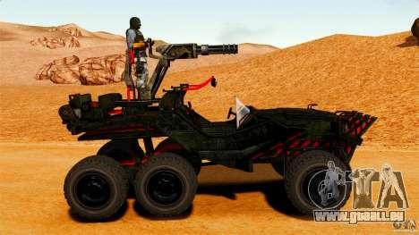 Swan Avatar Game für GTA 4 linke Ansicht