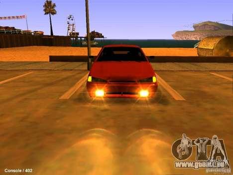 VAZ 2115 pour GTA San Andreas vue de droite