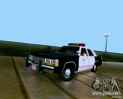 Ford Crown Victoria LTD LAPD 1991 pour GTA San Andreas