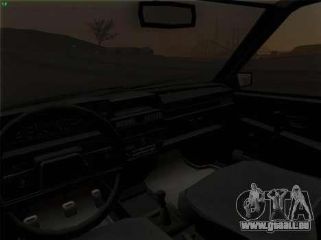 VAZ 21083i für GTA San Andreas Innen