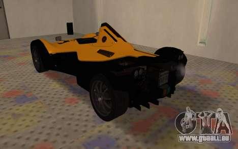 BAC Mono pour GTA San Andreas vue de droite