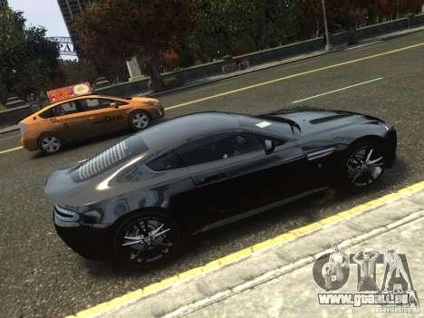 Aston Martin V12 Vantage 2010 V.2.0 pour GTA 4 est une gauche