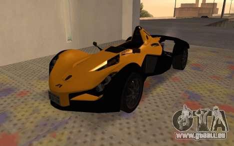 BAC Mono pour GTA San Andreas