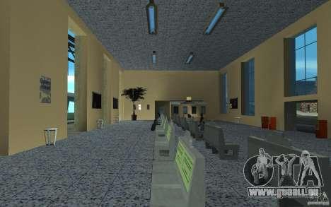 La nouvelle station à San Fierro pour GTA San Andreas troisième écran