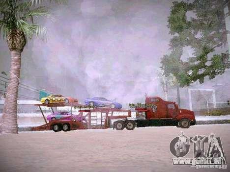 Auto Transporter Trailer für GTA San Andreas