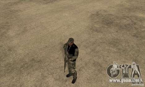 Vêtements de camouflage pour GTA San Andreas deuxième écran